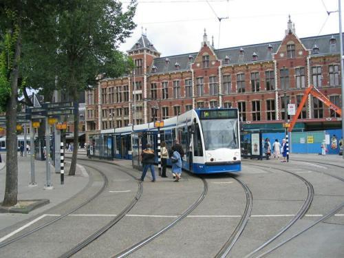 Tram-Amsterdam