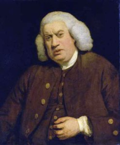 "Supposedly, Samuel Johnson, author of ""A Dictionary of the English Language"" (1755) said, ""No man but a blockhead ever wrote except for money."" (as quoted by his brilliant biographer, James Boswell). However, Boswell then added the comment, ""Numerous instances to refute this will occur to all who are versed in the history of Literature.""(Both quotes from Life of Samuel Johnson, LLD (1791) by James Boswell.) [Image credit: Portrait of Samuel Johnson by Sir Joshua Reynolds"